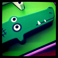 Kroko (-masru-) Tags: tiere puzzle kaiserslautern krokodil instagram