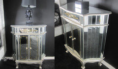 "4169 MIRRORED NIGHTSTAND • <a style=""font-size:0.8em;"" href=""http://www.flickr.com/photos/43749930@N04/5812913989/"" target=""_blank"">View on Flickr</a>"