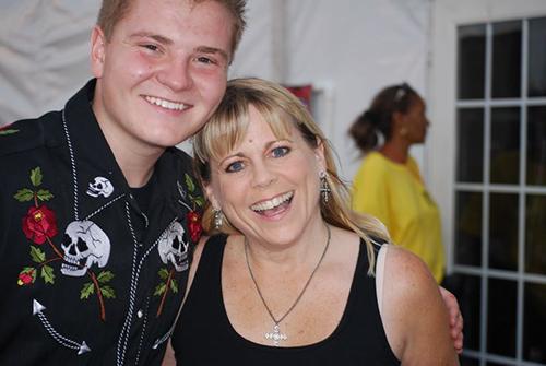 Lisa Pittmon and Jacob Nelson AV Fair