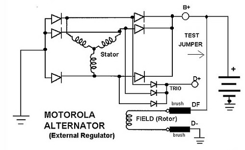 motorola r2 regulator wiring diagram thesamba.com :: view topic - motorola external voltage ... #2