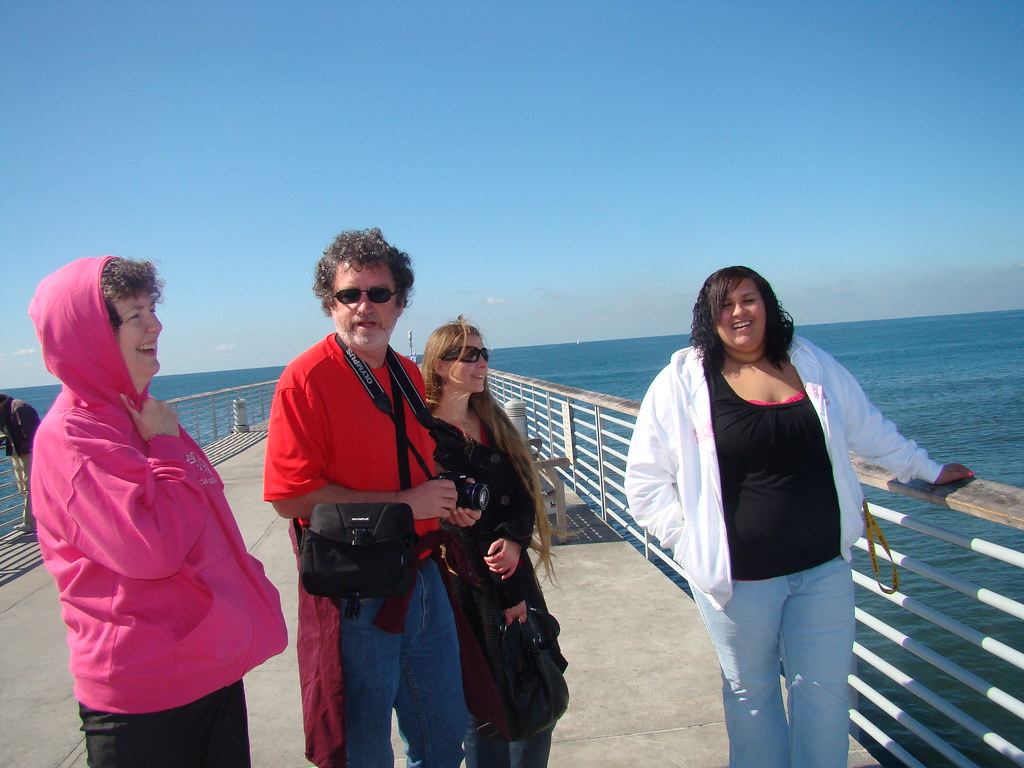 On the Hermosa Beach Pier