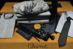 The shirts by Charvet (jmvnoos in Paris) Tags: paris france shirt nikon place shirts luxury neckties luxe necktie cravate placevendme chemise chemisier d300 vendme cravates shirtmaker charvet chemises vendomesquare shirtmakers chemisiers jmvnoos vendmesquare
