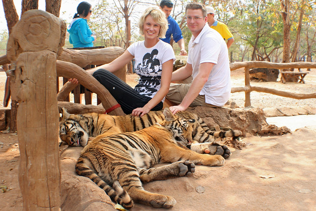 Us with Tiger Cubs