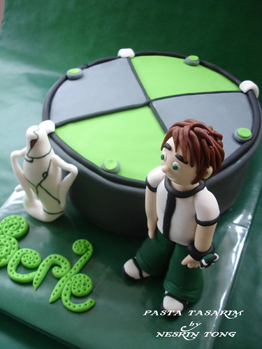 DSC07221-e BEN10 AND Omnitrix CAKE