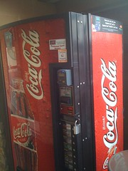 Impressive Coke Machine