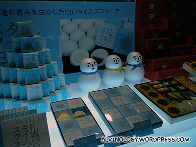 Snowmen chocolate