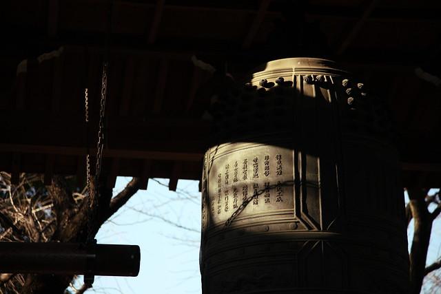 梵鐘の陰影