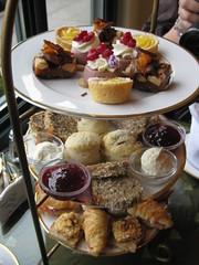 High Tea-ing at the Secret Garden Tea Room :)