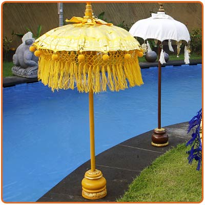 Balinese Umbrella, garden ornament