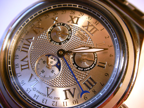 How To Set the Swatch Luar Moon Phase Watch by LauraMoncur from Flickr