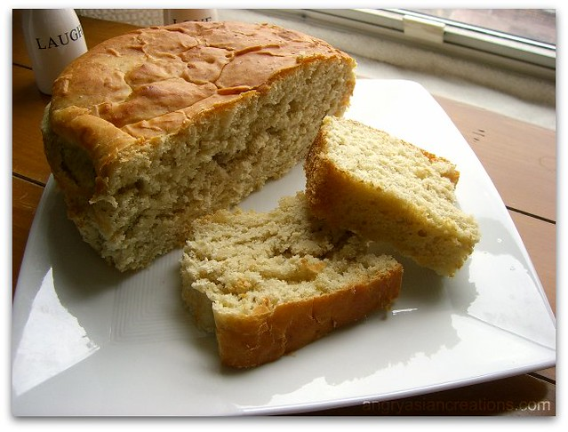 yeasted bananananana bread