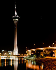 Macau Tower (whc7294) Tags: china nightshot macau macao  macautower  2470mmf28  lunarvillage platinumheartaward torredemacau pontedesaivan nikond300 piatiumheartawardhalloffame