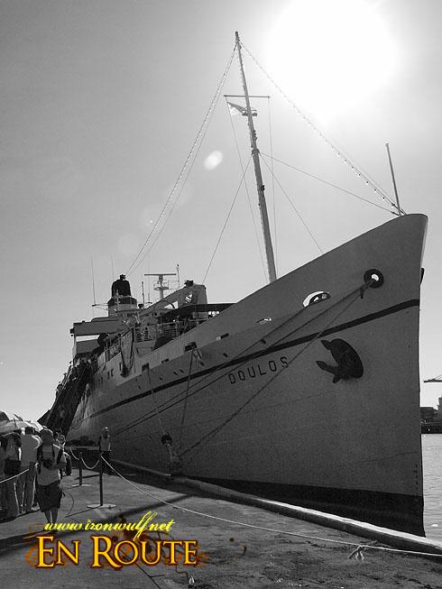 MV Doulos at Manila Pier 13