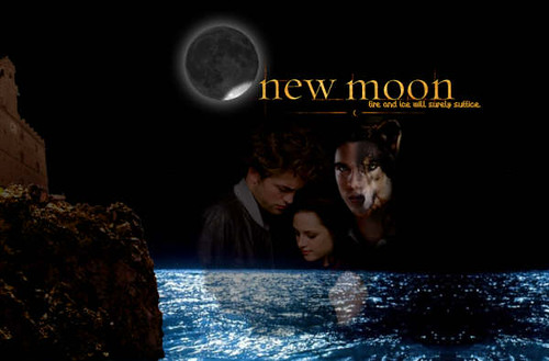 wallpaper moon. New Moon Movie Wallpaper by