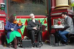 Happy St Patrick's Day (CharlesFred) Tags: irish london leadenhallmarket thecity stpatrick stpatricksday oirish