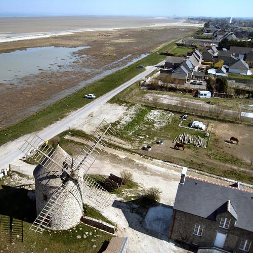 Les moulins de Cherrueix by Deltakap