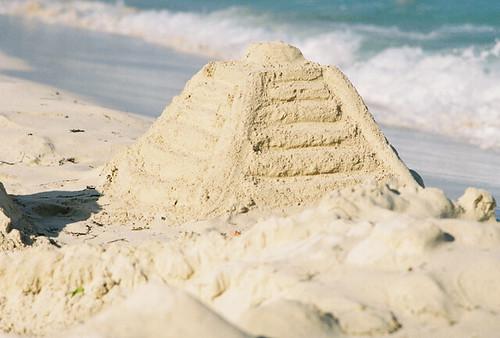 Mayan Sand Temple