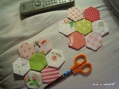 "my first ""doll quilt"" finally I will try:)"
