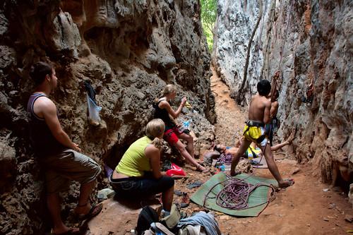 Climbing in Vang Vieng-195