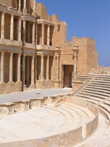 Amphitheatre in Sabratha