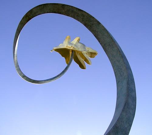 Up and Away. A California sculpture.