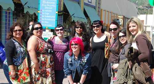 Santa Clarita Craft Lab meets Crafty Chica Cruisers!