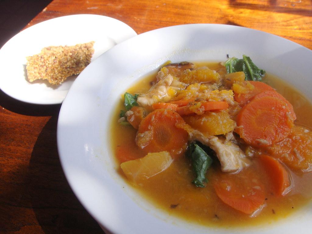 Pumpkin Shitake Soup