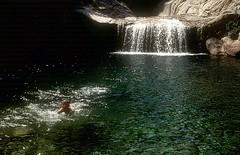 Canyon de la Vacca : la célèbre cascade drapée