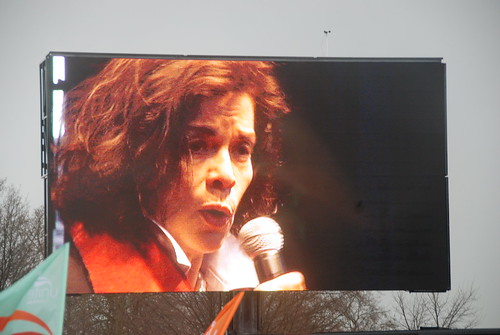 Bianca Jagger at the G20 March