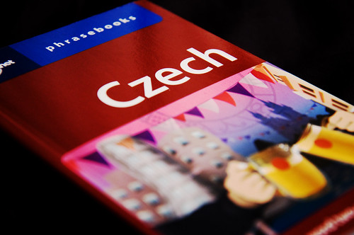 Czech Phrasebook, Or, Excitement (98/365)