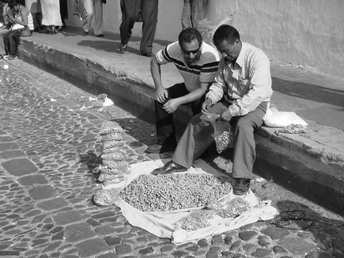 The Peanut Man. Antigua - Guatemala.