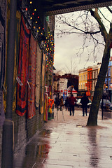 Camden market. Chalk Farm Rd & more (Che-burashka) Tags: street urban london forsale market camden camdenmarket regentscanal regentcanal chalkfarmroad alternativeculture portraitformat 400d katianosenko underrailbridge carpetsorscarfes
