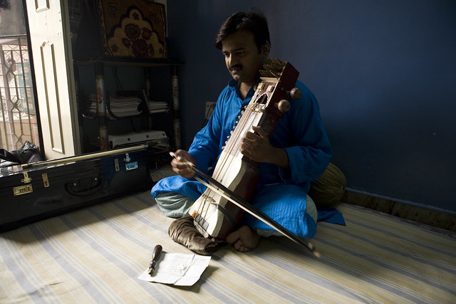 Sarangi in Delhi, India