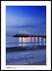 20th April 2009 Evening, Kuwait (nadPRINCE <Nadeem Nawaz>) Tags: sunset sea beach water evening nikon pear nadeem nawaz d300 kuwai alemdagqualityonlyclub