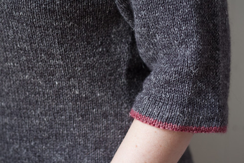 sleeve cuff edge