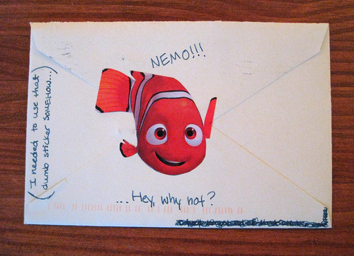 back of envelope with Nemo