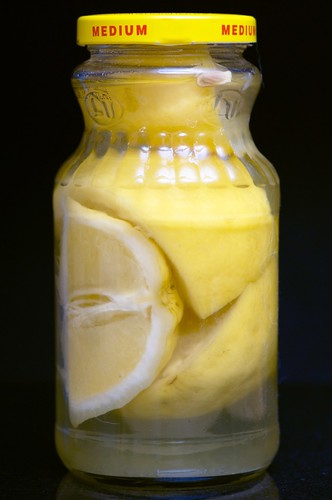 Brining Lemons for Salty Lemonade
