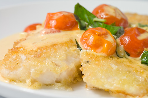 Parmesan encrusted tilapia recipe