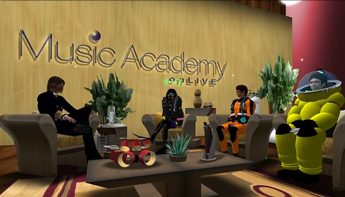 Student Second Life Marketing