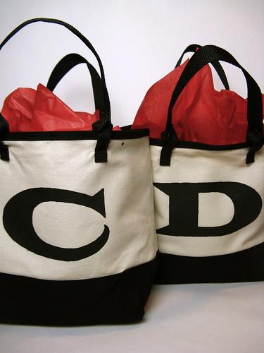 Monogrammed Gift Bags