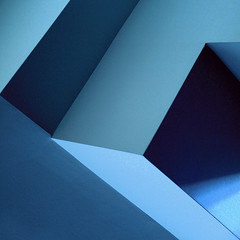 wave(s) (Reflectory Images) Tags: ocean blue shadow abstract detail geometric water wall drywall architecture triangles plane waves shadows angle geometry capital angles wave minimal planes column walls minimalism lc hap reflectory 123aa