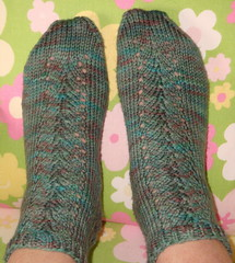 Spring Savasana Socks