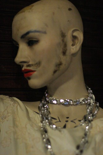 Mannequin at Zotz cafe