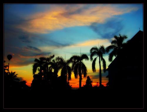 Sunset over east Jakarta, Indonesia ( explore #105 )