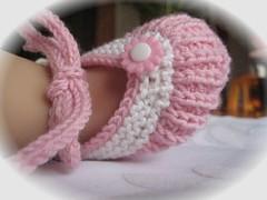 37-09 Baby Ballerinas rosa-weiß2
