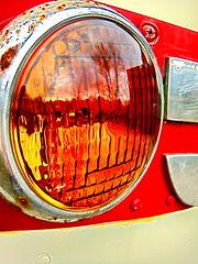 Mmm, pretty. (honig) Tags: light bus love vintage hamilton railway rubber 1956 milton