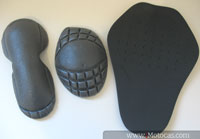 protetores da jaqueta sbk v6