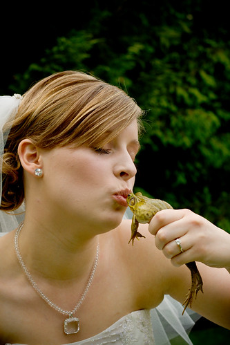 The Last Frog She will Kiss!