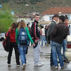 School's out in Bulqize (CharlesFred) Tags: men europa europe albania youngman balkan youngmen balcani shqiperia balcanica southeasteurope ballkan bulqize  balkanhalbinsel   ballkanik ovejebalkan thisisthebalkans achainofwoodedmountains haemus