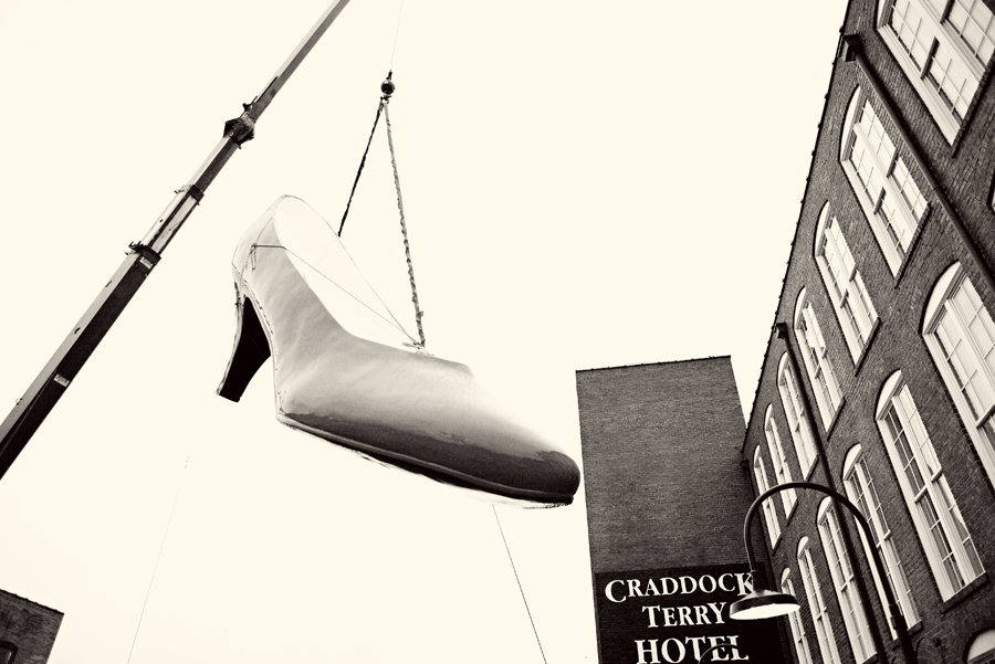 Craddock Terry Hotel Shoe Raising
